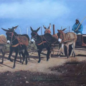 Oil on canvas Sold_African-Transport