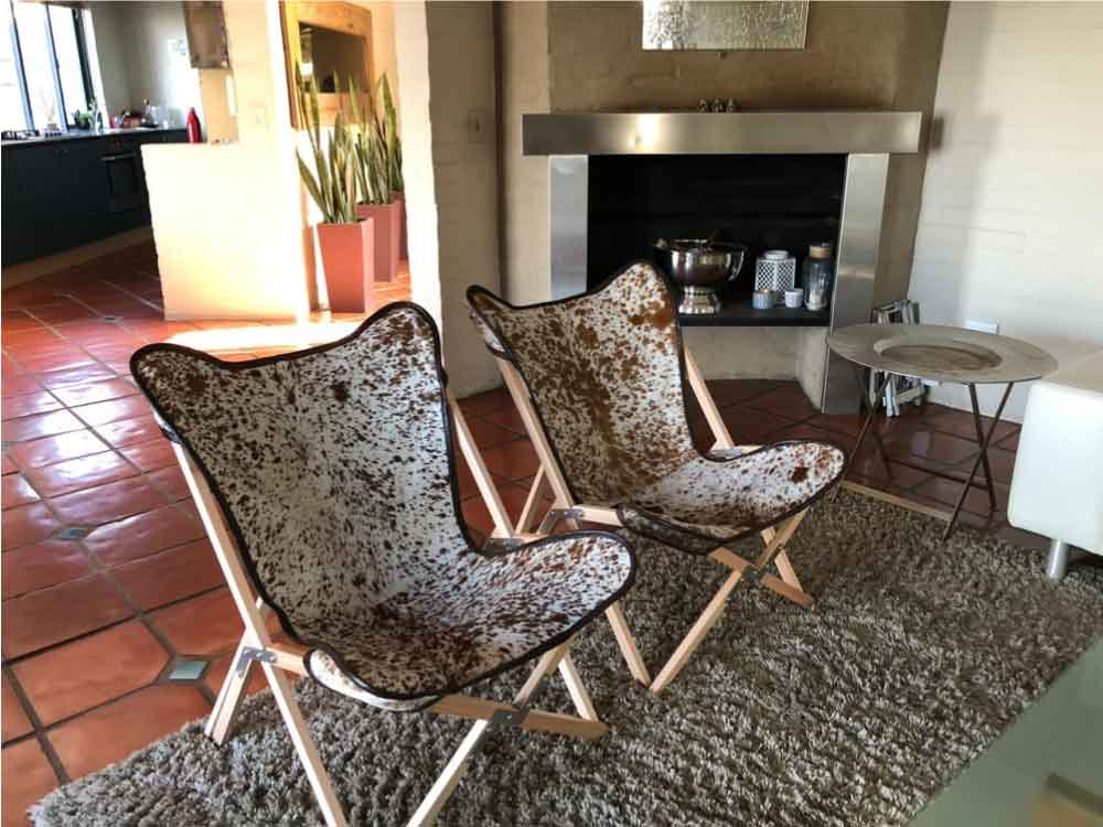 Nguni Products_Nguni Tripolina chairs cover