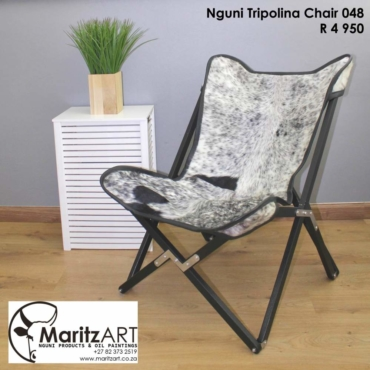 Nguni Tripolina Chair 048