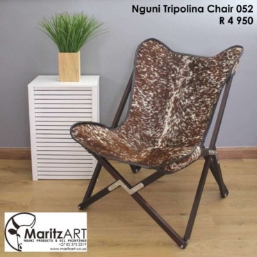 Nguni Tripolina Chair 052